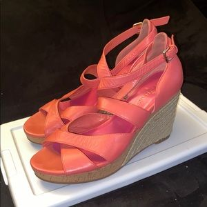 Strapped Cole Haan Wedge sandals